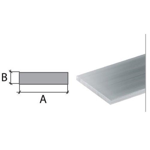 20x2 Płaskownik aluminiowy }