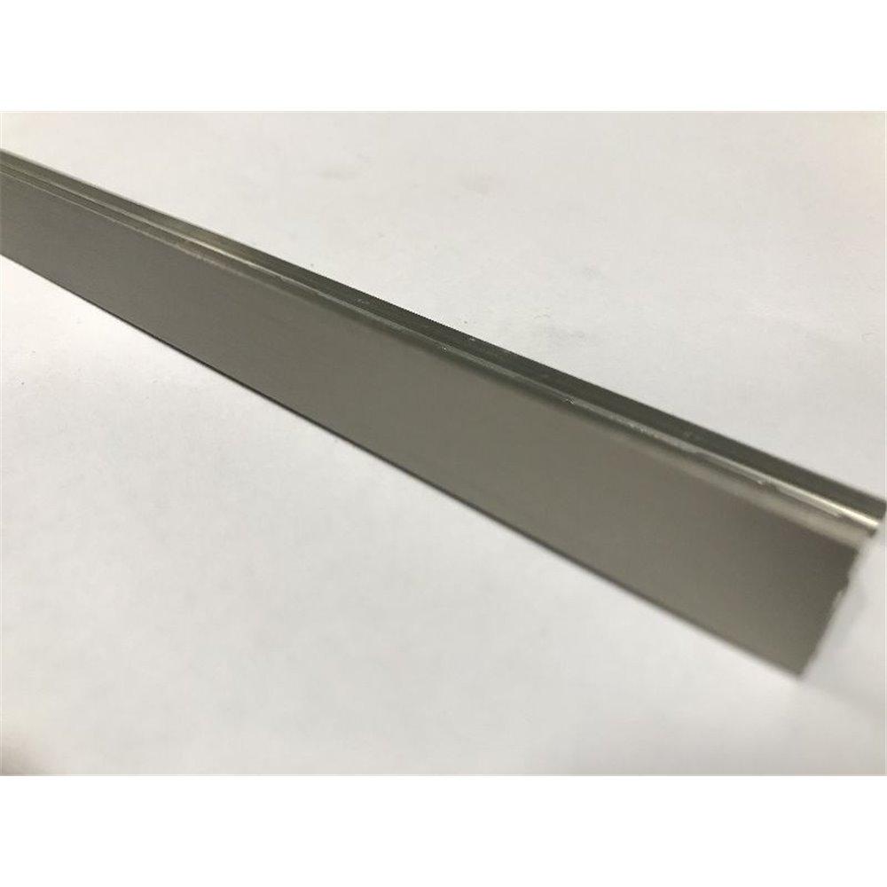 Inox szczotkowany Listwa L aluminium anodowane